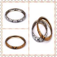 Minimum Order $20 (mixed order)   Fashion accessories retro finishing bohemia serpentine pattern bracelet