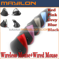 Free shipping by China post,Charge wireless mouse second generation vertical mouse wireless ergonomics mouse,