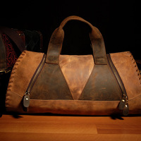 2013 Men's Genuine Leather Handbag Vintage handbag for male brand briefcase tote bag