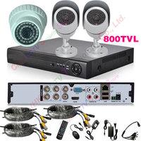540tvl 4ch DVR 1080P HDMI Kit CCTV DVR Day Night Waterproof Security Camera Surveillance Video System Home DIY CCTV systems