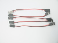 5 pcs 10cm Servo Extension Lead Wire Cable MALE TO MALE KK MK MWC flight control Board For RC Quadcopter + Free shipping
