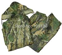 Bionic Camouflage Camo Split Raincoat Biomimicry Jungle Raincoat Cold-proof Waterproof Camouflage Hunting clothes rain pants