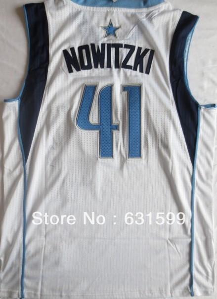 Free shipping top class R30 quality team uniform dallas nowitzki basketball jerseys 2013-2014 home away kit(China (Mainland))