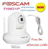 Foscam P2P FI9821P 1Megapixel HD 720P HD Pan/Tilt Wired/Wireless IP Camera CCTV H.264 IR-Cut Free DDNS