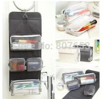 freeshipping New Multi-function Waterproof Men Hanging Travel Toiletry Storage Bag Cosmetic Makeup Organiser Wash Case