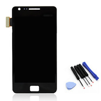i9100 New lcd For Samsung Galaxy S2 i9100 LCD Display+Touch Screen Digitizer Assembly Replacement+tools,free shipping