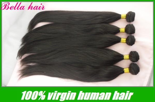 epacket free shipping virgin mongolian hair silky straight hair mix lenght 3pcs/a lot ,hot sale cheap price bella hair(China (Mainland))