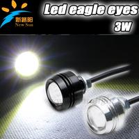 Free shipping Xenon White LED Eagle Eye Lamps For Parking Lights, Fog Lights or Backup Lights eagle eye tail lights