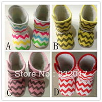 FREE SHIPPING baby chevron boots,infant shoes hottest item Warm and Cute winter Toddler Shoes/Footwear pre-walkers