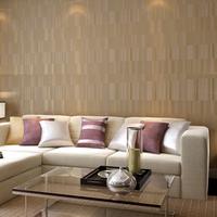 Tapetes novelty households Non-woven wallpaper brief fashion modern irregular lines gold velvet wall paper rolls wallpapers