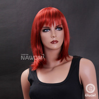 Free Shipping New 2014 Red Wigs,Anime Cosplay Synthetic Hair for Women 100%Kanekalon Supernova Sale