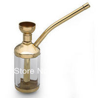 Smoking set nostalgic classic water smoking pipe copper pipe tobacco two-site  Hookah