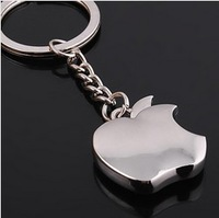 2014 Novelty Souvenir Metal Apple Key Chain Creative Gifts Apple Keychain Key Ring Trinket