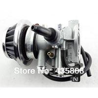 MIKUNI 19mm PZ19 Lever Choke Carburetor and air filter for  50 70 90 110 125CC ATV TAOTAO  CRF Carb Chinese