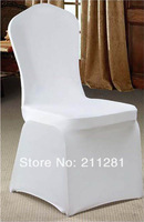 Dinner party celebration supplies spandex elastic chair cover chair covers black white beige