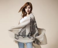 Free Shipping! 2014 New Winter! Fashionable Essential Life Drawing Flying Bird Women scarf shawl,L-146