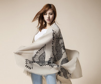 Free Shipping! 2014 New Winter! Fashionable Essential Life Drawing Flying Bird Women scarf shawl,L-146
