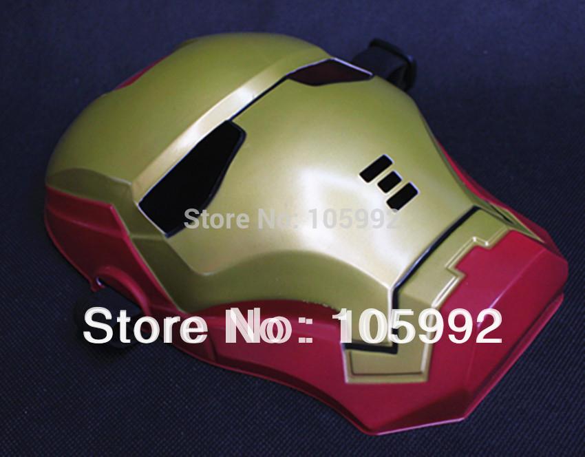 Iron Man Cartoon Face Iron Man Mask Cartoon Mask
