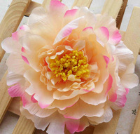 Free shipping Big Peony flower hair accessories 5 Inch rosette flowers for baby girls headband flower crown wholesale 20PCS
