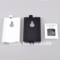 Black White 2800mAh External Backup Power Bank Battery charger Case for Nokia Lumia 925 with Stand free shipping