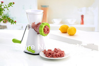 Manual Household Kitchen Appliances Plastic And Stainless Iron Blade Meat Grinder  Free Shipping!