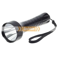 Free shipping.UniqueFire M8 Cree R2-WC 250-Lumen LED Flashlight - Black (1*18650/2*16340)---IM2965R85