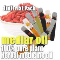 100% pure plant herbal medicine oils Medlar Oil 1ml Trial Pack Nourishing liver Enrich the blood Activating blood