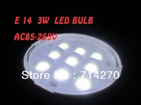 NEW ! 3W  E14 AC85-265V Flexible Lamp SMD 5050 spotlight led bulb 9LED downlight  energy saving +Free shipping