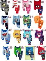 Long Sleeve Pajamas Kids Baby Clothing Sets Boys pijama Girls pyjamas children's pajamas Design Sleepwear