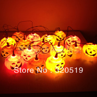Halloween pumpkin lamp luminous decoration halloween pumpkin lantern string light lamp bar decoration props