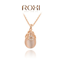 11.11 ROXI brand 2014 fashion necklace rose Gold Crystal Necklace pendants with austrian crystal  fashion  trendy jewelry