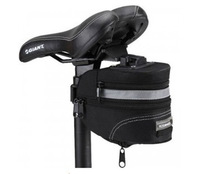 2013 New Free Shipping Cycling Bike Top grade Bicycle Saddle Seat Rear Bag Quick Release Black-Gray-13015