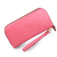 2013 women's wallet large capacity multi card holder wallet candy color zipper wallet