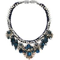 HOT sale new  fashion shourouk Chain luxury crystal pendant bib statement shourouk necklaces for women jewerly wholesale