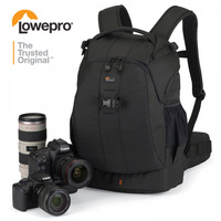 Black Genuine Lowepro Flipside 400 AW DSLR Camera Photo Bag Backpack Rucksack for Canon Nikon Waterproof with All Weather Cover
