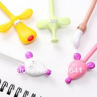 Wholesale mini order $10(mix order)  free shipping New Cute Creative Fashion Flexible Cartoon Animails Ball Point Pen