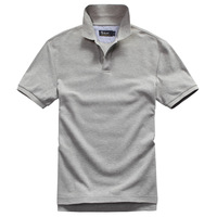 Mwe men's 100% pima cotton short-sleeve polo shirt men solid color polo shirts men short-sleeve