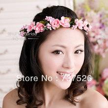 popular bridal flower headband