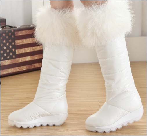Women's White Snow Boots | Santa Barbara Institute for ...