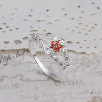 Promotion,free shipping,high quality 925 silver ring, 925 silver fashion jewelry,Wholesale  zircon Ring-women