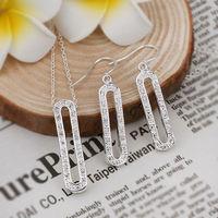 Wholesale 925 silver jewelry set,fashion jewelry, high quality,Nickle free anti allergic, factory price. zircon set S478