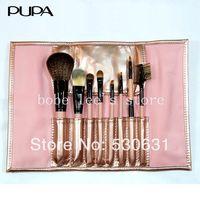 Fashion 3 Colors Selection  8 PCS Professional Makeup Brush Facial Beauty Cosmetic Brushes Kit Set