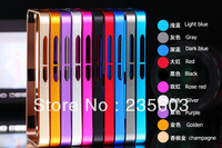 Top-level Metal Ultra-thin Bumper Frame for Mione M2(Mi2) Multi colour Cell Mobile phone protector Covers Cases Free shipping