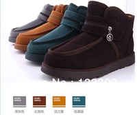 Hot selling High Quality men's Beckham High Wool Warm Winter Snow Boots Outdoor shoes Free shipping Size 5-10 four colors X0015