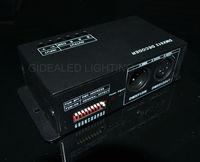 LED controller DMX Decoder;2pcs/lot Input DC5V-24V,LED DMX512 controller RGB Controller support TM1804,TM1809,TM1812 driving IC