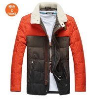 2013 new winter autumn -summer outdoor men down jacket parka brand plus size plus big size down coat slim outerwear 5XL