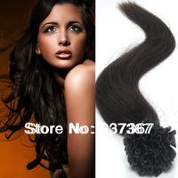 "18"" 20"" 22"" #2Dark Brown New Star Hair Keratin U tip Nail Brazilian Virgin Hair Straight Remy Human Hair Extensions Dropshipping"