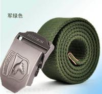 Fashion Canvas Premium Eagle Shape Metal Mens strap man Ceinture Buckle Belt men's belt 110cm Free shipping MB001-2hipping MB009
