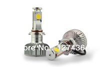 High power Cree H8 LED Car Head Light 2000LM  H4/H7/H8/H11/9006/9005 Car LED light F ree shipping