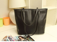 2013 winter  women's   Fashion Popular vintage  dimond plaid fashionable casual  pu tote handbags